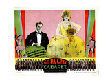 Cabaret, from Left, Tom Moore, Gilda Gray, 1927 Giclee Print