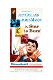 A Star Is Born, Judy Garland on Poster Art, 1954 Giclee Print