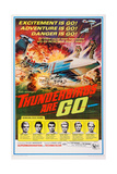 Thunderbirds are Go, 1966 Giclee Print