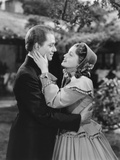 The Girl of the Golden West, from Left: Nelson Eddy, Jeanette Macdonald, 1938 Photo