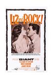 Giant, Elizabeth Taylor, Rock Hudson, 1956 Giclee Print