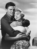 The Breaking Point, from Left: John Garfield, Patricia Neal, 1950 Photo