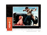 Giant, from Left, Elizabeth Taylor, James Dean, 1956 Giclee Print