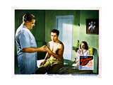 Nightmare Alley, Tyrone Power (Center), Coleen Gray (Right), 1947 Giclee Print