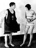 The Cameraman, Buster Keaton, Marceline Day, 1928 Fotografía