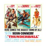 Thunderball, Sean Connery, 1965 Giclee Print