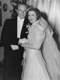 From Left: Gene Raymond, Jeanette Macdonald at their Wedding Reception, 1937 Photo