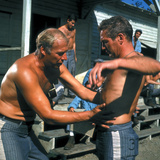 Cool Hand Luke, George Kennedy, Paul Newman, 1967 Photo