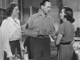 The Best Years of Our Lives, from Left: Myrna Loy, Fredric March, Teresa Wright, 1946 Photo