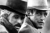 Butch Cassidy and the Sundance Kid, Robert Redford, Paul Newman, 1969 Photo