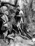 Jason and the Argonauts, Laurence Naismith, Todd Armstrong, with 'Golden Fleece', 1963 Photo