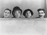Animal Crackers, from Left: Zeppo Marx, Harpo Marx, Chico Marx, Groucho Marx, 1930 Photo
