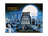 Night of the Living Dead, 1968 Giclee Print