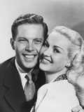 Diamond Horseshoe, (AKA Billy Rose's Diamond Horseshoe), from Left: Dick Haymes, Betty Grable, 1945 Photo