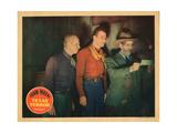 Texas Terror, John Wayne, Gabby Hayes, 1935 Giclee Print
