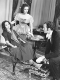 Wuthering Heights, from Left: Merle Oberon, Geraldine Fitzgerald, David Niven, 1939 Photo