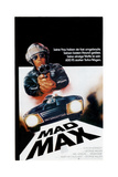 Mad Max, Top: Mel Gibson on German Poster Art, 1979 Giclee Print
