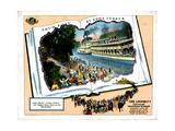 Show Boat, 1929 Giclee Print