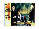 Horse Feathers, from Left: E H Calvert, Groucho Marx, Edward Lesaint, (The Marx Brothers), 1932 Giclee Print