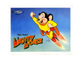 Mighty Mouse, Ca. 1940s Reproduction procédé giclée