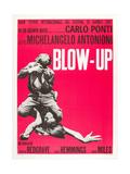 Blowup, (AKA Blow Up, Aka Blow-Up), 1966 Giclée-Druck