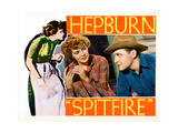 Spitfire, from Left, Katharine Hepburn, Ralph Bellamy, 1934 Giclee Print