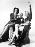 Gentlemen Prefer Blondes, from Left: Jane Russell, Charles Coburn, Marilyn Monroe, 1953 Fotografía