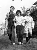 To Kill a Mockingbird, Philip Alford, Mary Badham, John Megna in Between Scenes, 1962 Photo
