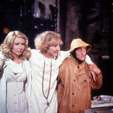 Young Frankenstein, from Left: Teri Garr, Gene Wilder, Marty Feldman, 1974 Photo