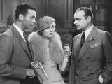 What Price Hollywood, from Left: Neil Hamilton, Constance Bennett, Lowell Sherman, 1932 Photo
