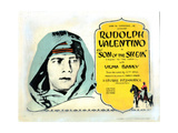 The Son of the Sheik, Rudolph Valentino, 1926 Giclee Print