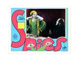 Spies, (AKA Spione), Gerda Maurus, Rudolf Klein-Rogge, 1928 Giclee Print