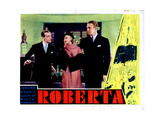 Roberta, from Left, Fred Astaire, Ginger Rogers, Randolph Scott, 1935 Giclee Print