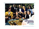 The Shanghai Gesture, Gene Tierney, Victor Mature, Etc, 1941 Giclee Print