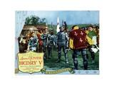 Henry V, Laurence Olivier, 1944 Giclee Print