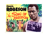 Song of Freedom, Paul Robeson, 1936 Giclee Print