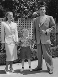 The Mating of Millie, from Left: Evelyn Keyes, Jimmy Hunt, Glenn Ford, 1948 Photo