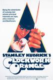 A Clockwork Orange, Malcolm Mcdowell, 1971 Giclée-Druck