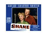 Shane, from Left, Jean Arthur, Van Heflin, 1953 Giclee Print