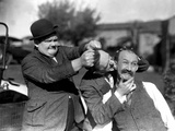 Big Business, Oliver Hardy, Stan Laurel [Laurel and Hardy], James Finlayson, 1929 Photo