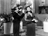 Stormy Weather, from Left, Cab Calloway, Lena Horne, 1943 Foto