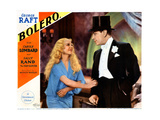 Bolero, from Left, Sally Rand, George Raft, 1934 Giclee Print