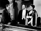 A Night at the Opera, from Left: Groucho Marx, Sig Ruman, Margaret Dumont, 1935 Photo
