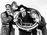 A Night in Casablanca, from Left: Groucho Marx, Chico Marx, Harpo Marx, 1946 Photo