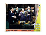 The Benson Murder Case, Eugene Pallette (With Phone), William Powell (Right), 1930 Giclee Print