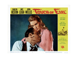 Touch of Evil, Charlton Heston, Janet Leigh, 1958 Giclee Print