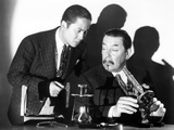 Charlie Chan on Broadway, from Left: Keye Luke, Warner Oland, 1937 Photo