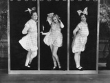 The Hollywood Review of 1929, from Left: Marie Dressler, Bessie Love, Polly Moran, 1929 Photo