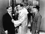 A Night at the Opera, Groucho Marx, Walter Woolf King, Harpo Marx, 1935 Photo