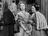 Pride and Prejudice, Edmund Gwenn, Greer Garson, Maureen O'Sullivan, 1940 Photo